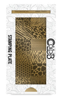 Color Club | Animal Prints Stamping Plate - Gina Beauté