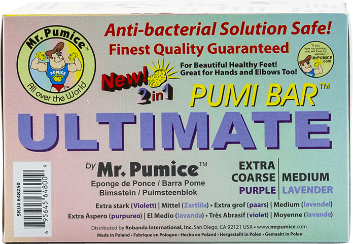 Mr Pumice Pumi Bar 2in1 - Gina Beauté
