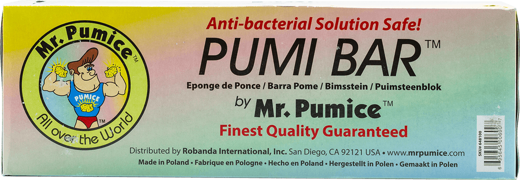 Mr Pumice Pumi Bar Anti-bacterial 1 pcs - Gina Beauté