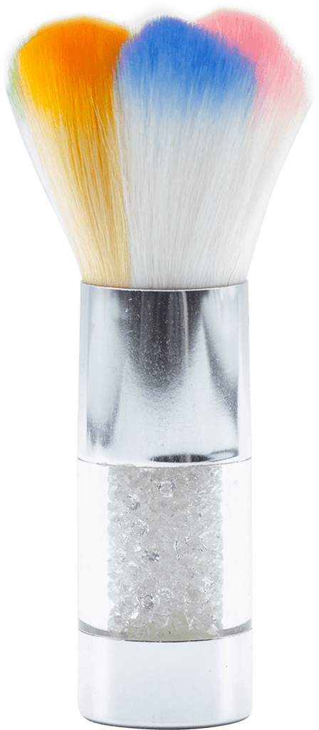 Mini Brush (Silver/Clear)