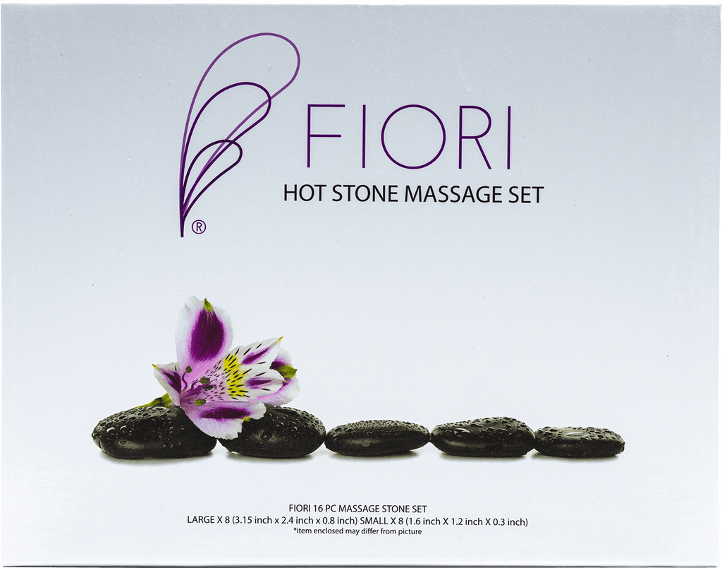 FIORI Hot Stone Massage Set - Gina Beauté