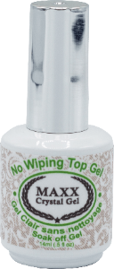 Maxx Crystal Gel No Wiping Top Gel - Gina Beauté