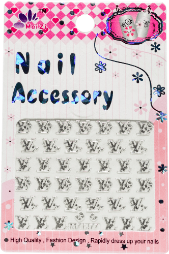 meiZi LV Nail Stickers - Gina Beauté