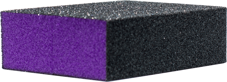 Nail Buffer (Black/Purple)