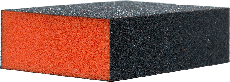 Nail Buffer (Black/Orange)