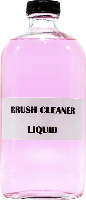 Acrylic & Gel Brush Cleaner Liquid 16 oz - Gina Beauté