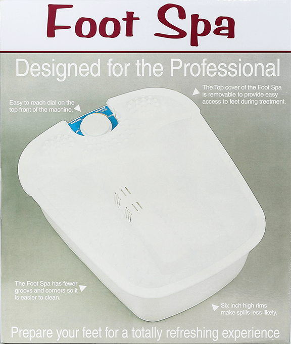 Foot Spa- Designed for the Professional - Gina Beauté