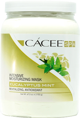 Intensive Cacee Moisturizing Mask (Eucalyptus Mint) 67.2oz - Gina Beauté