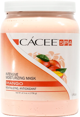 Intensive Cacee Moisturizing Mask (Mango) 67.2 oz - Gina Beauté