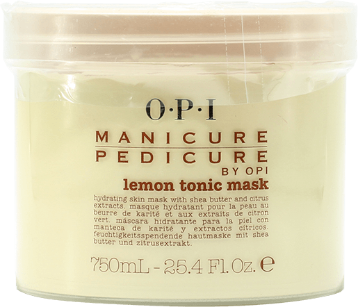 OPI Lemon Tonic Mask