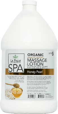 La Palm Spa Massage Lotion (Honey Pearl) - Gina Beauté