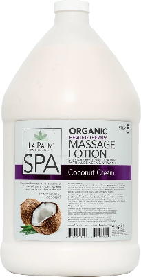 La Palm Spa Massage Lotion (Coconut Cream) - Gina Beauté