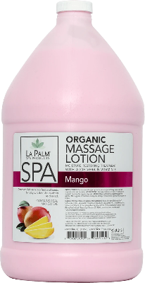 La Palm Spa Massage Lotion (Mango) - Gina Beauté