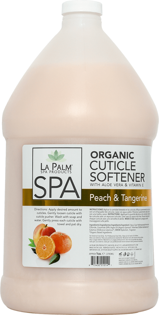 La Palm Spa Cuticle Softener (Peach Tangerine) - Gina Beauté
