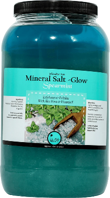 La Palm Mineral Salt-Glow Spearmint
