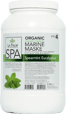La Palm Spa Marine Mask (Spearmint Eucalyptus) - Gina Beauté