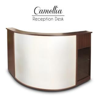 Camellia Reception Desk - Gina Beauté