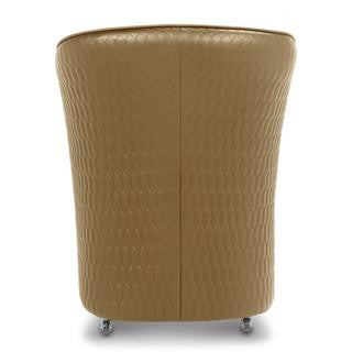 Gs9057 - Chiq Quilted Tube Chair (Butterscotch) - Gina Beauté