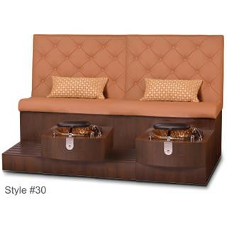 Gulfstream Pedicure Spa Kimberly Double Bench