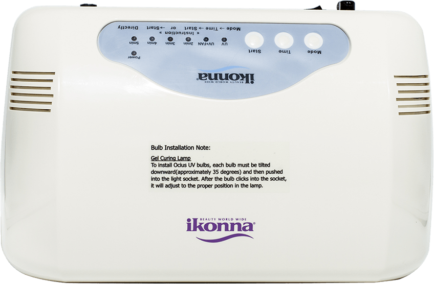 IKONNA 45 Watt Gel Curing UV Lamp - Gina Beauté