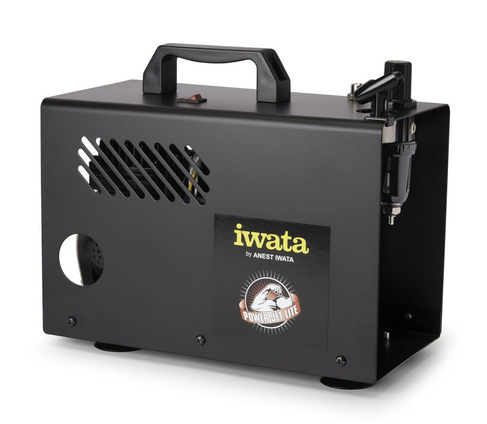 IS925 Iwata Power Jet Lite 110-120V Air Compressor - Gina Beauté