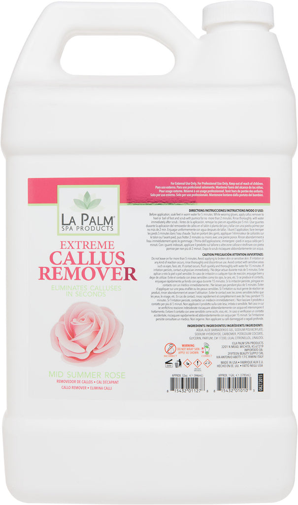 La Palm Spa Extreme Callus Remover (Mid Summer Rose) - Gina Beauté