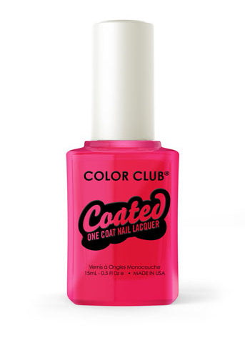 Color Club™ Coated Jackie Oh!  One Coat Nail Lacquer - Gina Beauté