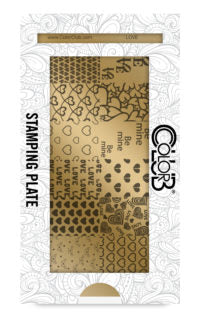 Color Club | Love Stamping Plate - Gina Beauté