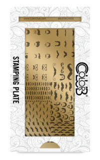 Color Club | Mustache Stamping Plate