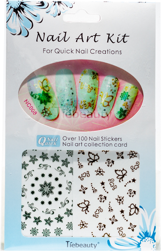Nail Art Stickers - Gina Beauté