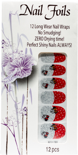 Mickeys Nail Foil Stickers - Gina Beauté