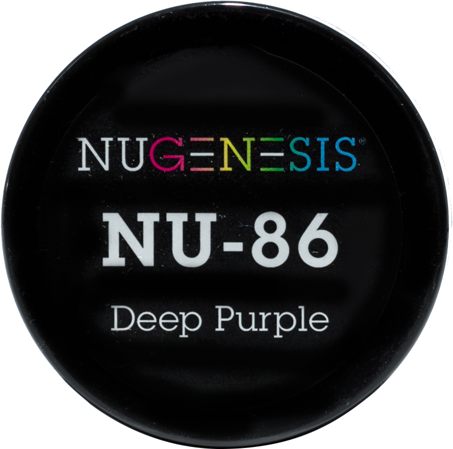 NuGenesis Nail Deep Purple NU-86 2oz - Gina Beauté