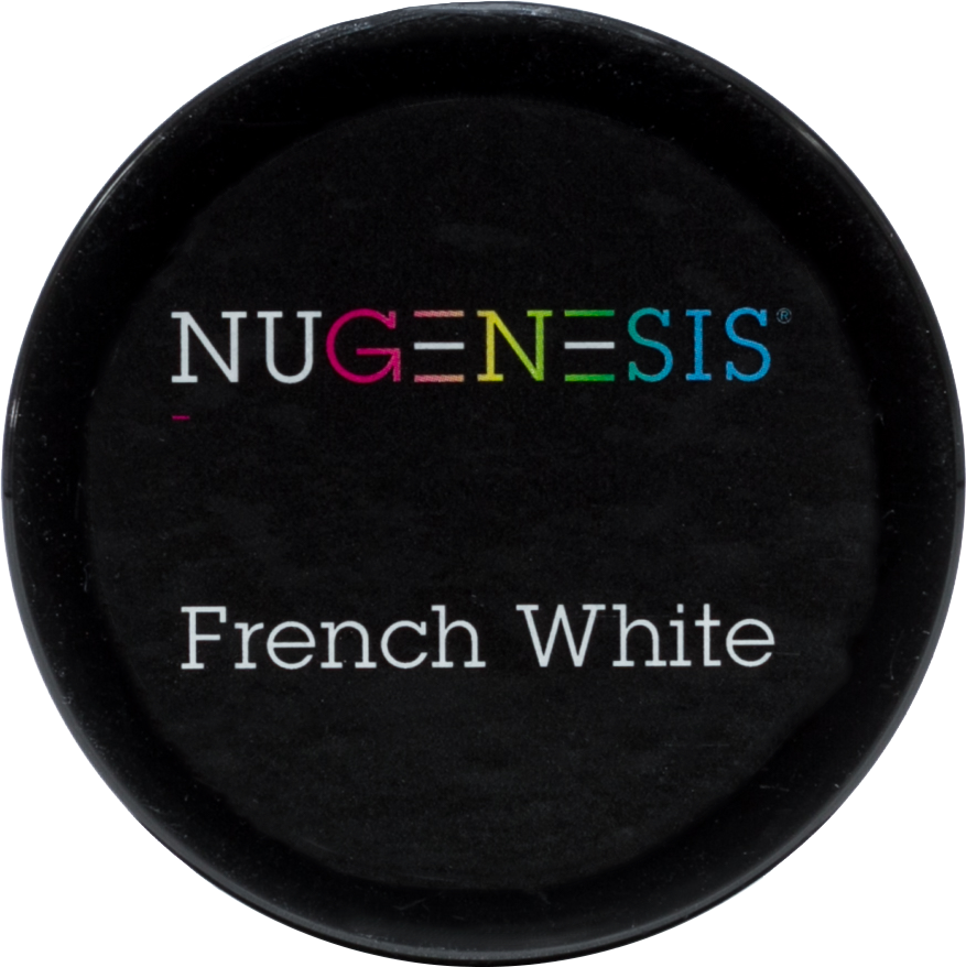 NuGenesis Nail French White 2oz - Gina Beauté
