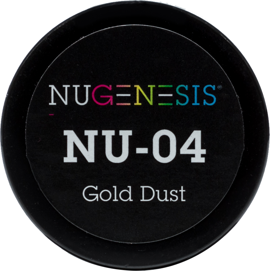 NuGenesis Nail Gold Dust NU-04 2 oz - Gina Beauté