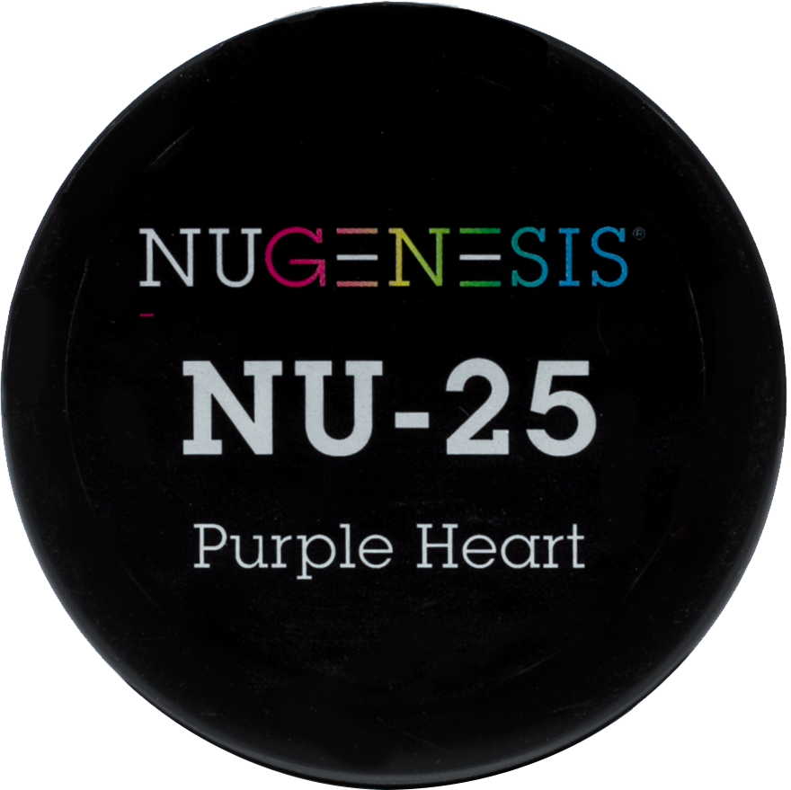 NuGenesis Nail Purple Heart NU-25