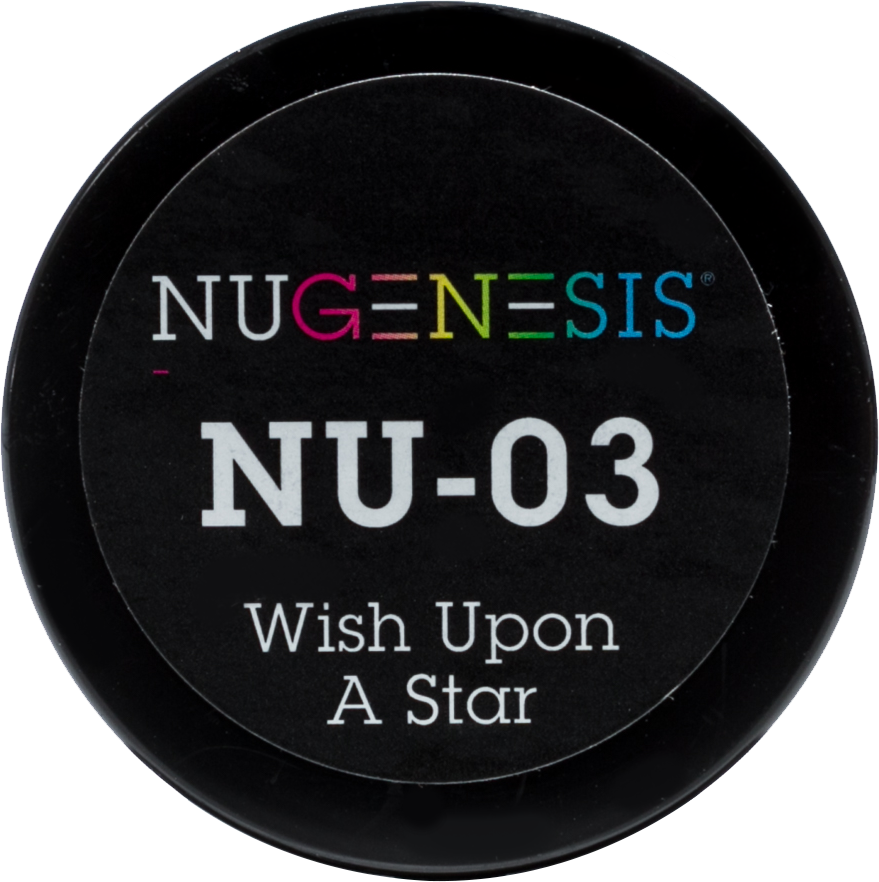NuGenesis Nail Wish Upon A Star NU-03 - Gina Beauté