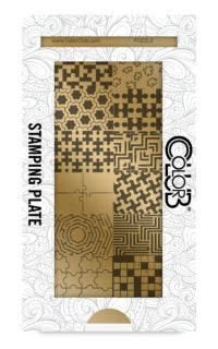Color Club | Puzzle Stamping Plate - Gina Beauté