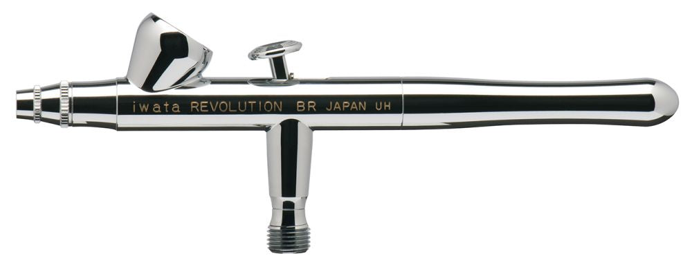R2500 Iwata Revolution HP-BR Gravity Feed Dual Action Airbrush - Gina Beauté