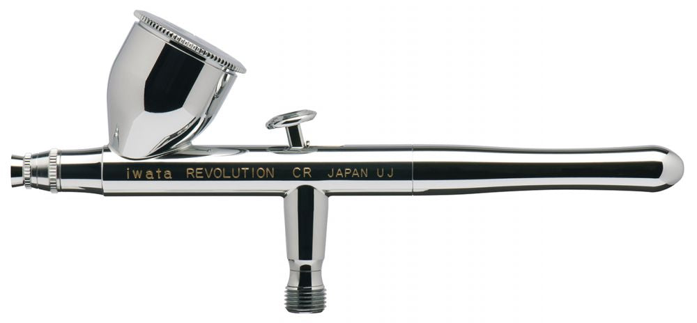 R4500 Iwata Revolution HP-CR Gravity Feed Dual Action Airbrush - Gina Beauté