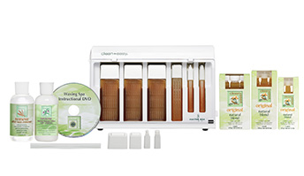 Clean and Easy Basic waxing kit - perfect for the student and the beginner esthetician - Gina Beauté
