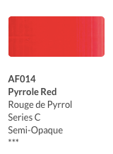 Aeroflash AirBrush color Pyrrole Red (AI614)