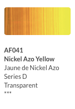 Aeroflash Airbrush Nickel Azo Yellow (AI641) - Gina Beauté