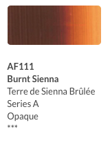 Aeroflash Airbrush Burnt Sienna (AI711) - Gina Beauté