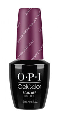 O·P·I GelColor What's The Hatter With You?