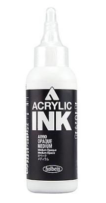 Air Brush Color Opaque White Paint E159. 100ml - Gina Beauté
