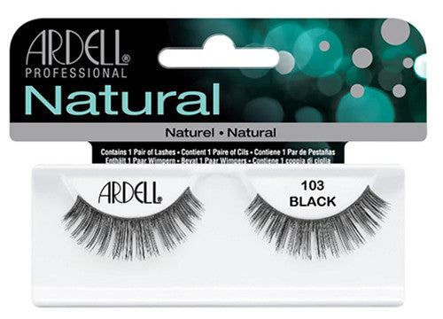 Ardell lashes Natural 103 Black (1 Pair)