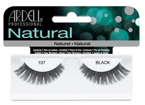 Ardell lashes Natural 107 Black (1 Pair)