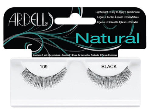 Ardell lashes Natural 109 Black (1 Pair) - Gina Beauté