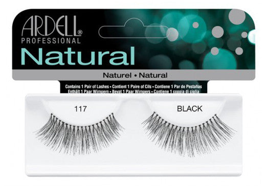 Ardell lashes Natural 117 Black (1 Pair)