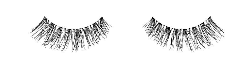 Ardell lashes Natural 120 Demi Black (1 Pair) - Gina Beauté